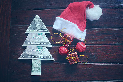 Currencies, Devises, Money, Argent, Christmas gift, cadeau de Noel