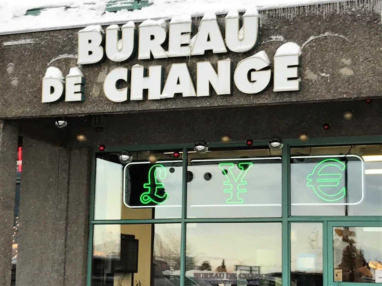 Pointe claire ice canada - Bureau de change sans frais ...
